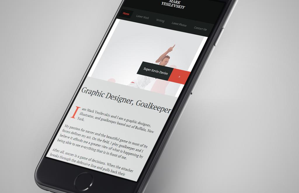 Portfolio Redesign & Rebuild
