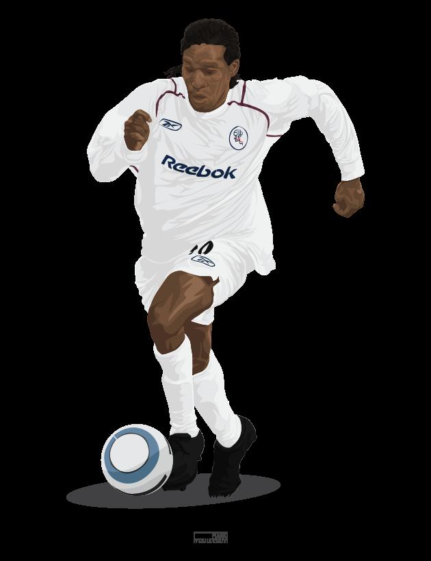 Jay Jay Okocha – Club – Bolton Wanderers 2004/05