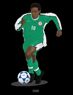 Jay Jay Okocha – Country – Nigeria 1998