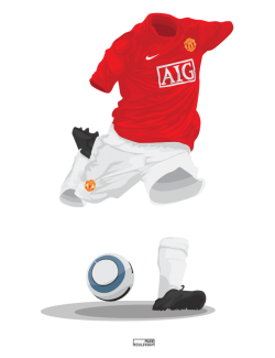 Manchester United 2007/08 – Champions League winners – Home