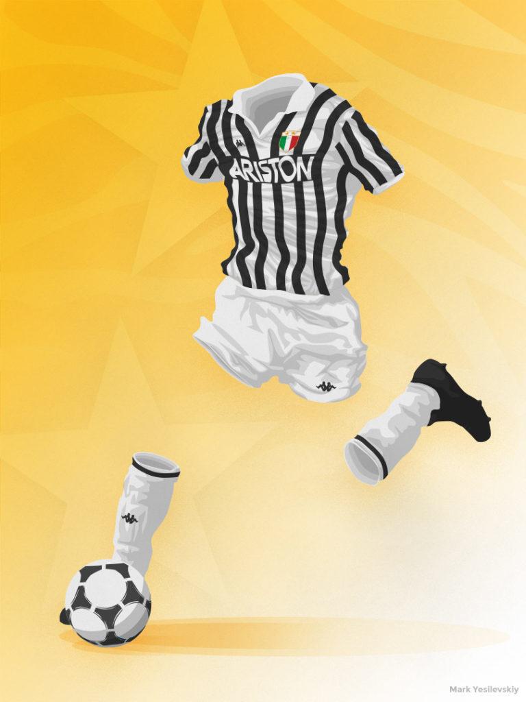 Juventus 1984-1985 Home