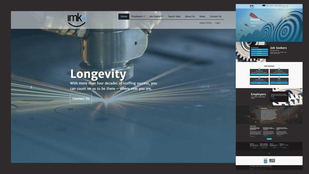 Light Industrial Staffing Website