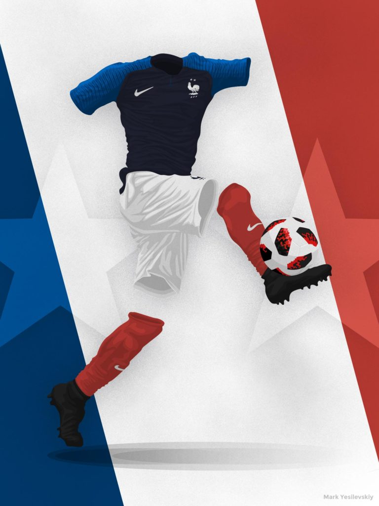 France 2018 – World Cup Winners