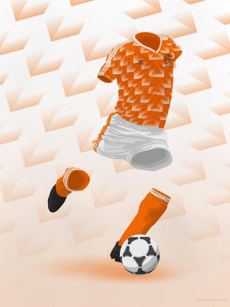 Netherlands 1988 – Home